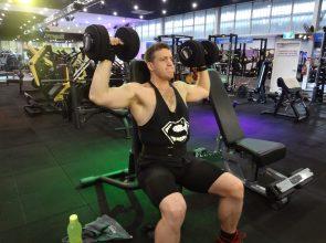 iFitness247 Super Hero Ben Beckwith